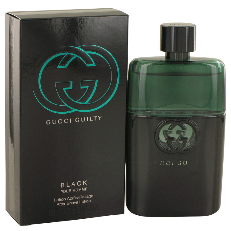 b1b658d0f5b Gucci Guilty Black Cologne Spray – Gift Set 100ml After Shave by Gucci