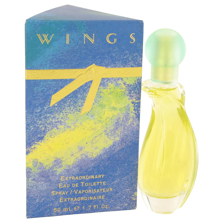 WINGS by Giorgio Beverly Hills Eau De Toilette Spray 50ml for Women