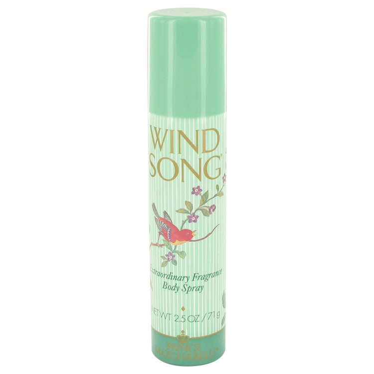 WIND SONG by Prince Matchabelli Deodorant Spray 75ml for Women