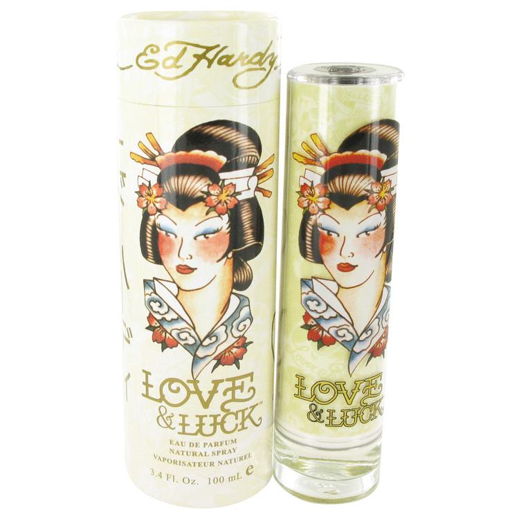 Love & Luck by Christian Audigier Eau De Parfum Spray 100ml for Women