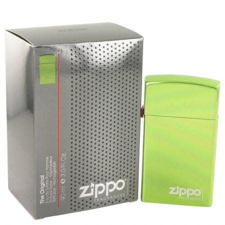 Zippo Green by Zippo Eau De Toilette Refillable Spray 90ml for Men by