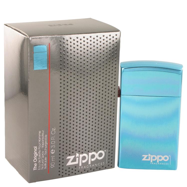 Zippo Blue by Zippo Eau De Toilette Refillable Spray 90ml for Men