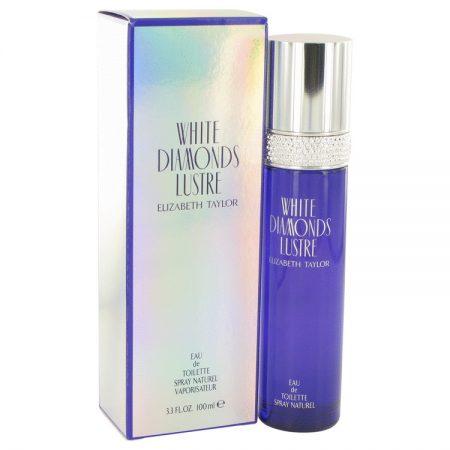 White Diamonds Lustre by Elizabeth Taylor Eau De Toilette Spray 100ml for Women by