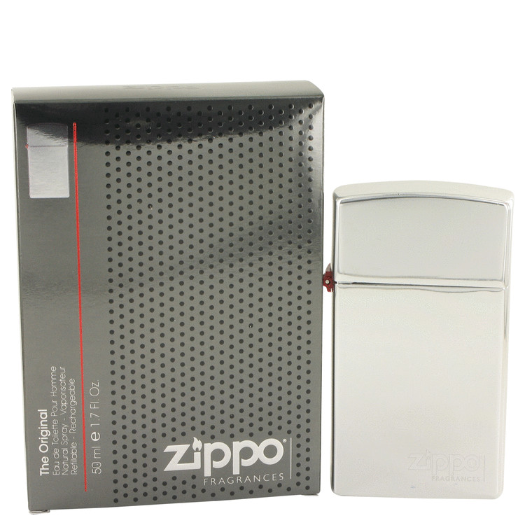 Zippo Original by Zippo Eau De Toilette Spray Refillable 50ml for Men