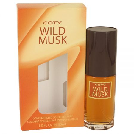WILD MUSK by Coty Concentrate Cologne Spray 30ml for Women by