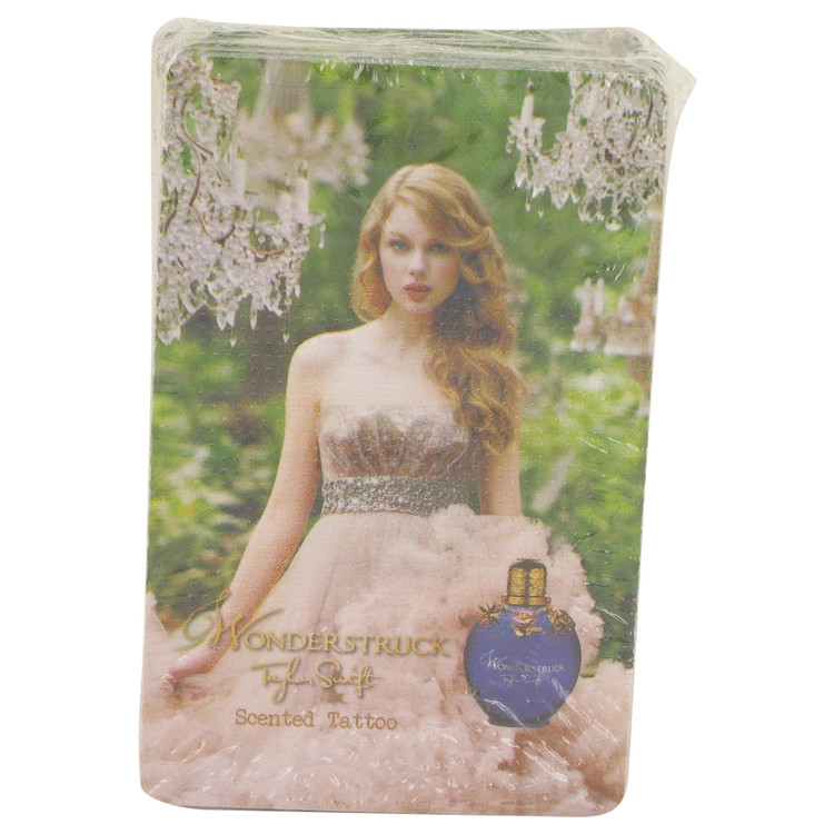 Wonderstruck by Taylor Swift 50 Pack Scented Tatoos 50 pcs for Women
