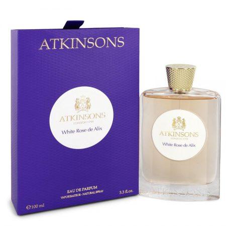 White Rose De Alix by Atkinsons Eau De Parfum Spray 100ml for Women by