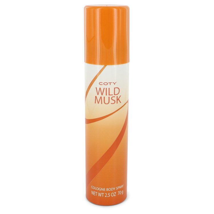 WILD MUSK by Coty Cologne Body Spray 75ml for Women
