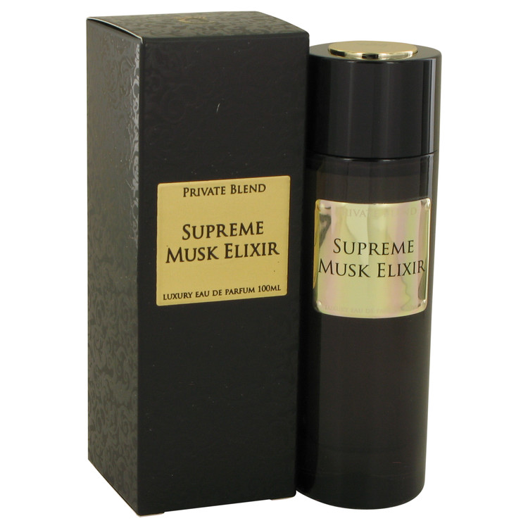 Private Blend Supreme Musk Elixir by Chkoudra Paris Eau De Parfum Spray 100ml for Women