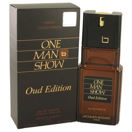 One Man Show Oud Edition by Jacques Bogart Eau De Toilette Spray (unboxed) 100ml for Men by