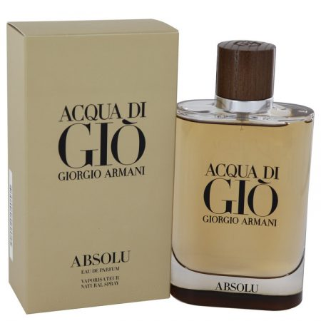 Acqua Di Gio Absolu by Giorgio Armani Eau De Parfum Spray (unboxed) 75ml for Men by