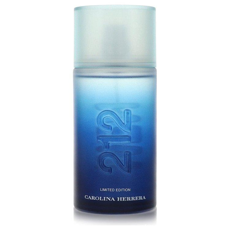 212 Summer by Carolina Herrera Eau De Toilette Spray (Limited Edition )unboxed 100ml for Men