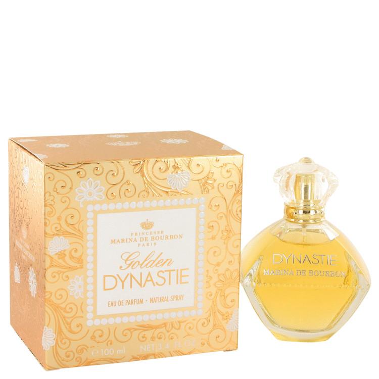 Golden Dynastie by Marina De Bourbon Eau De Parfum Spray 100ml for Women