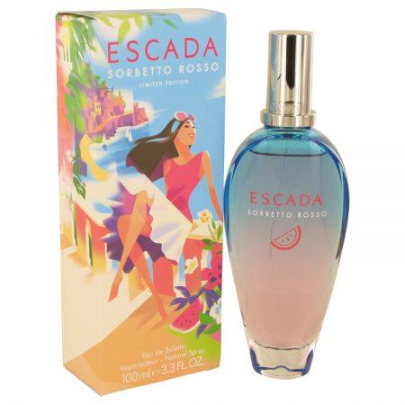 Escada Sorbetto Rosso by Escada Eau De Toilette Spray 100ml for Women by