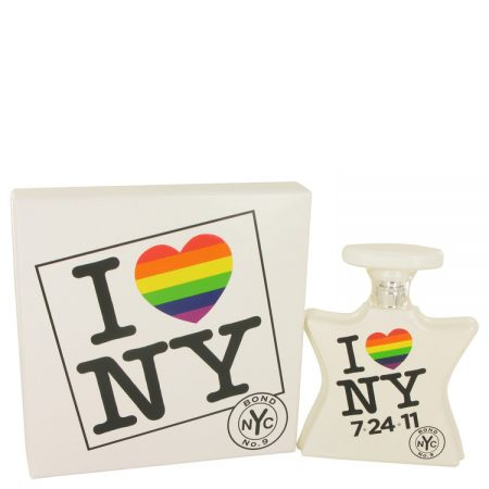 I Love New York Marriage Equality Edition by Bond No. 9 Eau De Parfum Spray (Marriage Equality Edition – Unisex )unboxed 100ml for Men by