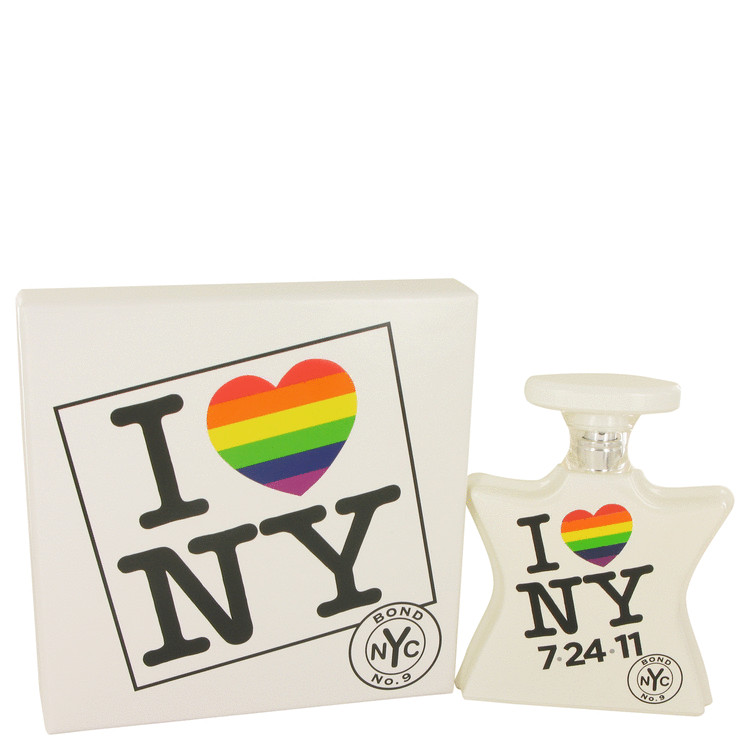 I Love New York Marriage Equality Edition by Bond No. 9 Eau De Parfum Spray (Marriage Equality Edition – Unisex )unboxed 100ml for Men