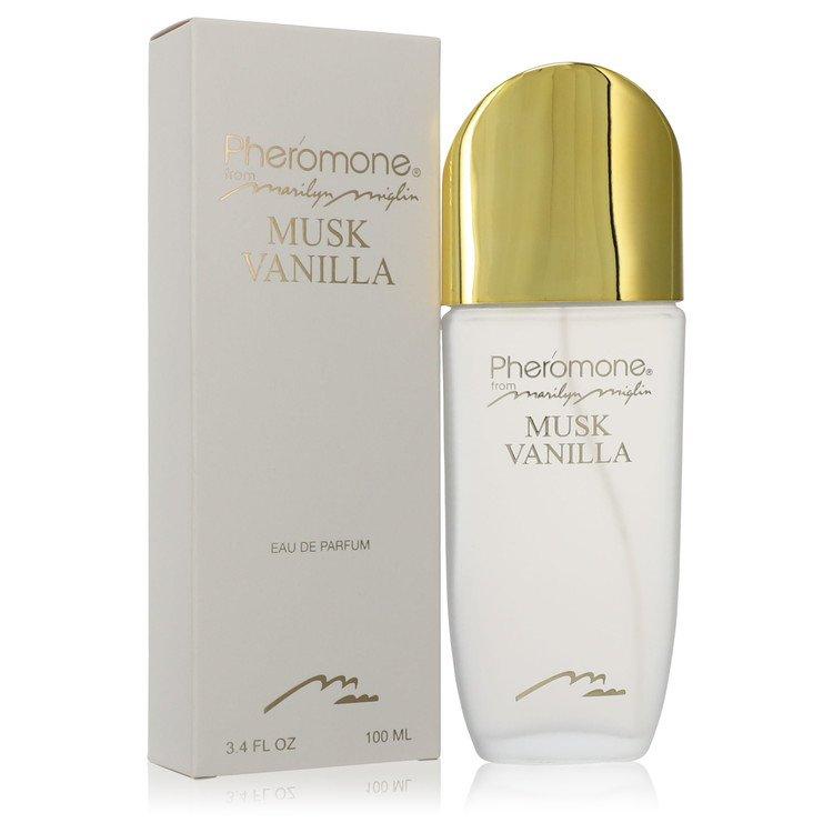 Pheromone Musk Vanilla by Marilyn Miglin Eau De Parfum Spray (unboxed) 100ml for Women