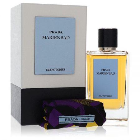 Prada Olfactories Marienbad by Prada Eau De Parfum Spray with Gift Pouch (Unisex) 100ml 100ml Eau De Parfum Spray + Gift Pouch for Men by
