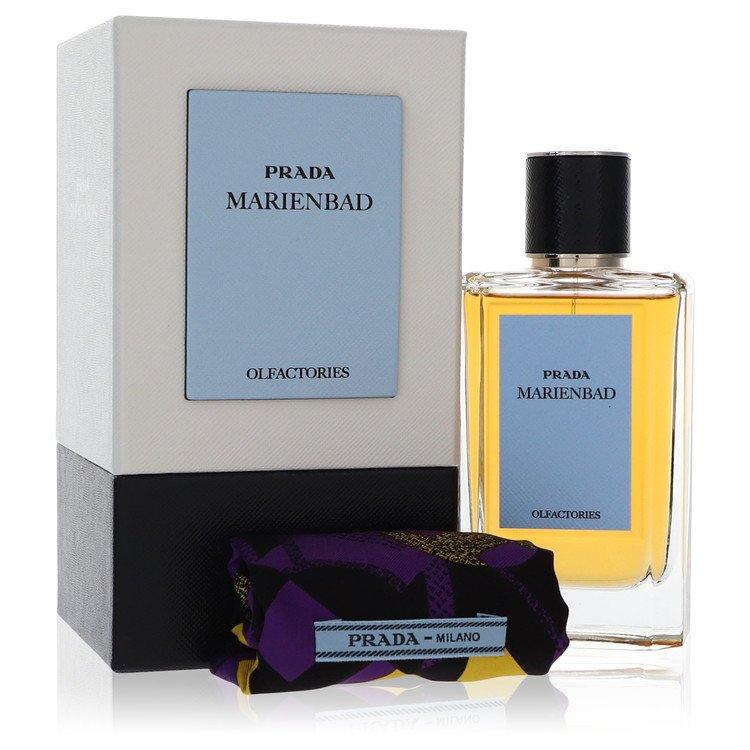 Prada Olfactories Marienbad by Prada Eau De Parfum Spray with Gift Pouch (Unisex) 100ml 100ml Eau De Parfum Spray + Gift Pouch for Men