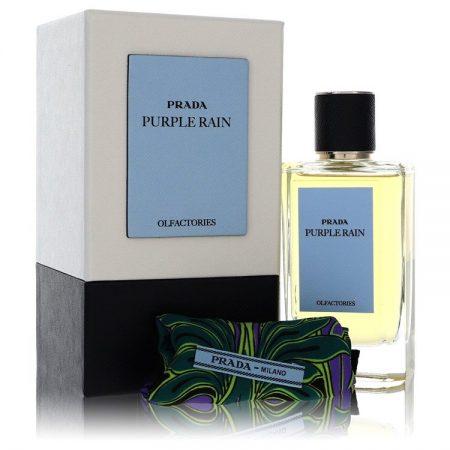 Prada Olfactories Purple Rain by Prada Eau De Parfum Spray with Gift Pouch (Unisex) 100ml for Men by