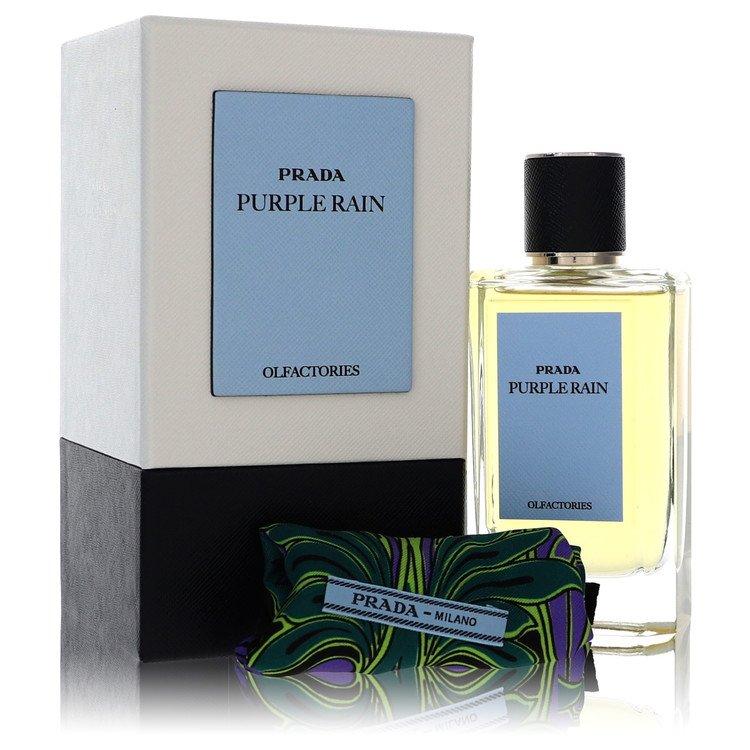Prada Olfactories Purple Rain by Prada Eau De Parfum Spray with Gift Pouch (Unisex) 100ml for Men