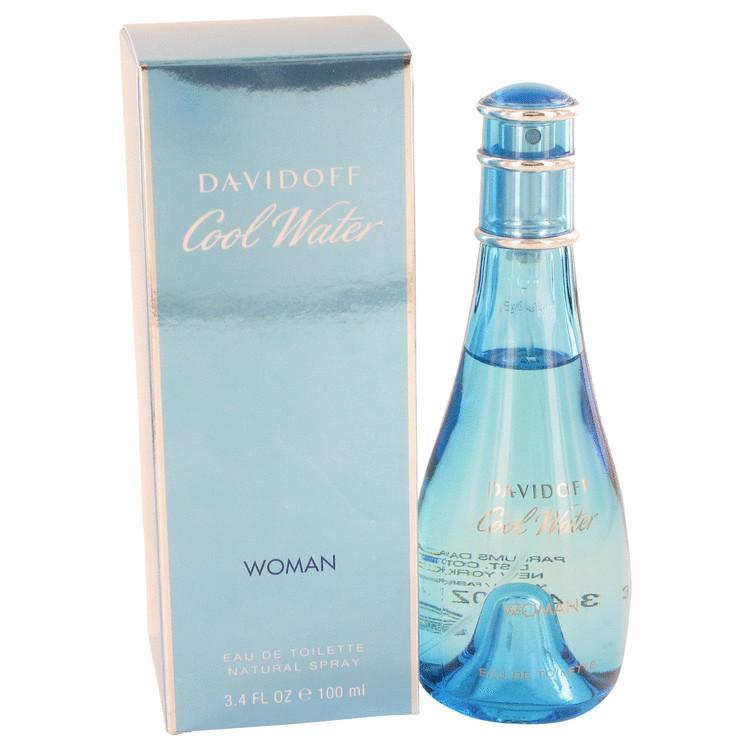 COOL WATER by Davidoff Eau De Toilette Spray 100ml