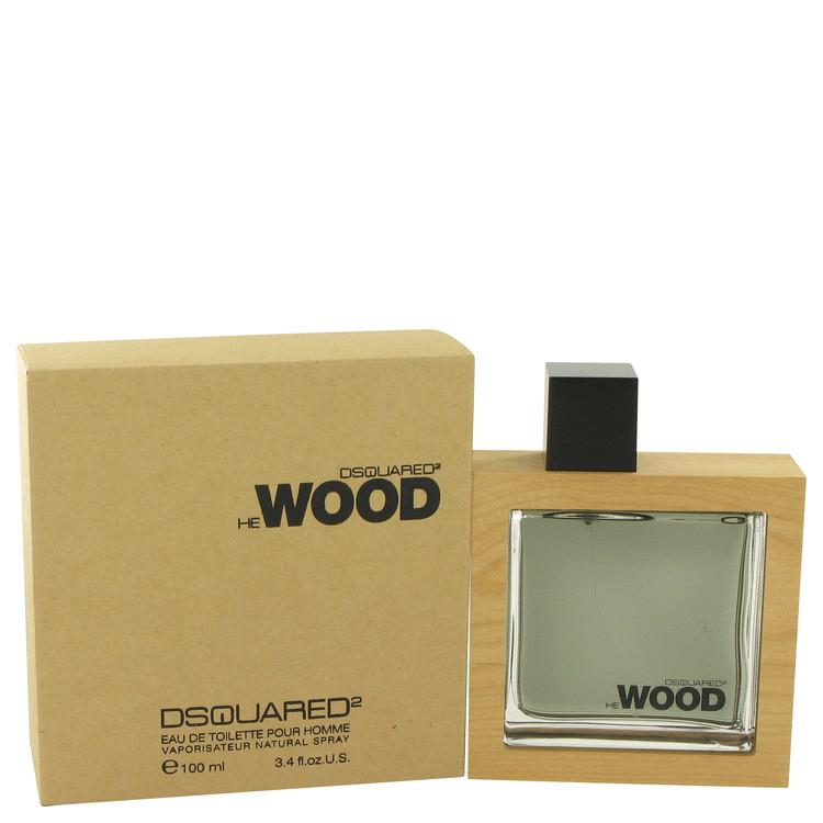 He Wood by Dsquared2 Eau De Toilette Spray 100ml