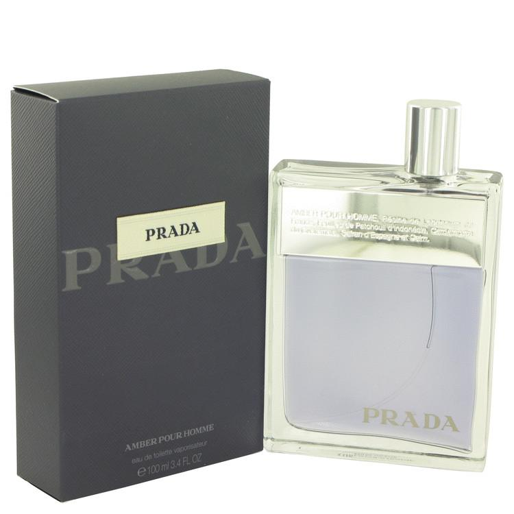 Prada Amber by Prada Eau De Toilette Spray 100ml