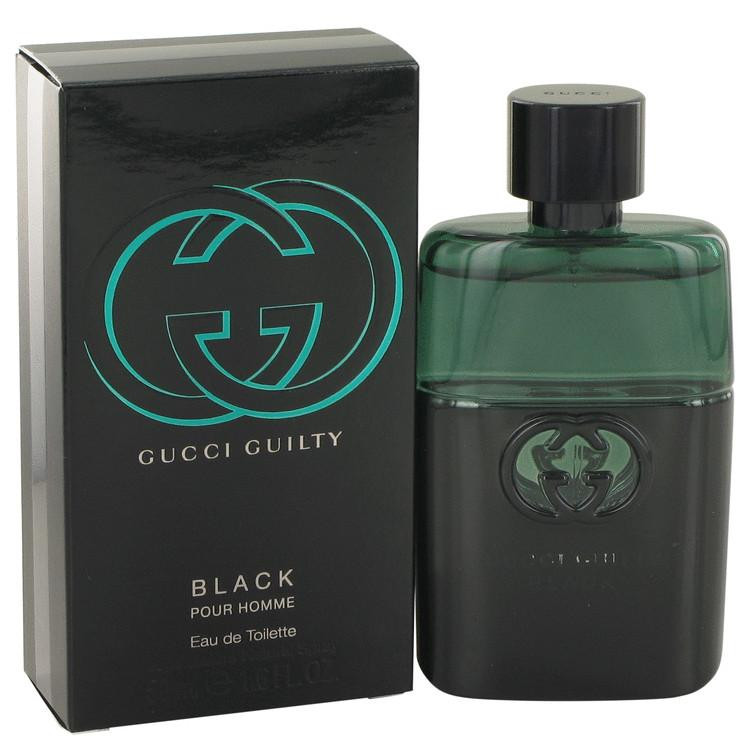 Gucci Guilty Black by Gucci Eau De Toilette Spray 50ml